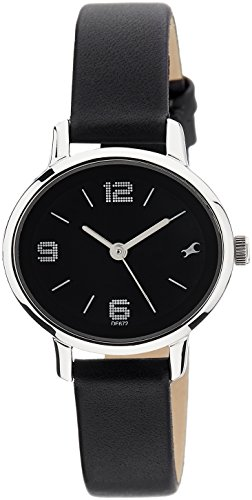 Fastrack Analog Black Dial Women's Watch   6107SL02
