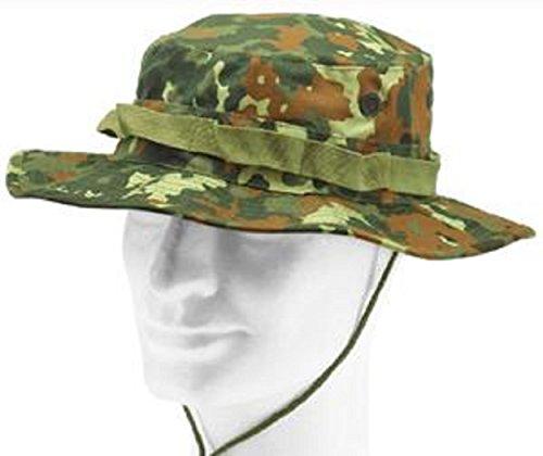 A Outdoor chel Flecktarn os Jungle Army Us colores Hat en Bl y muchos Boonie Schlapp tama rCqfr