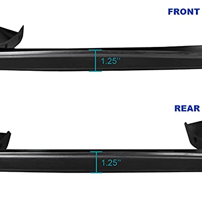 Spec-D Tuning FDF-SIV07SBBK-RS Fender Flare (- Short Bed Only - Matte): Automotive