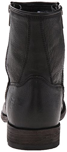Men's Boot Blk FRYE Double Zip Ethan Black HxOCq