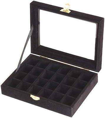 TXDIRECT Accesorios de joyería Bandeja Caja de Anillo para ...
