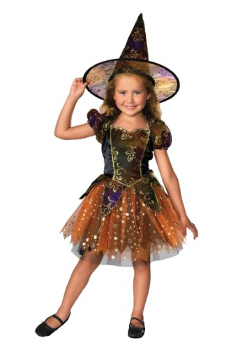 Let's Pretend Child's Elegant Witch Costume, Toddler -