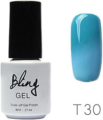 ❀ Vernis Gel Semi Permanente – higlles UV LED Esmalte De Uñas Gel Soak, Lot Nude Popular: Amazon.es: Belleza