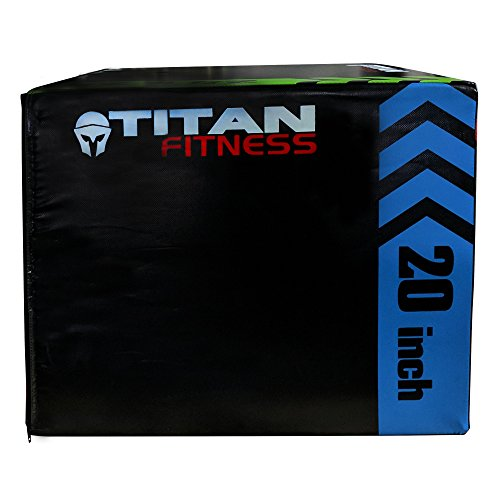 TITAN FITNESS 3-in-1 Portable Foam Plyometric Box, Jumping Exercise Equipment by TITAN FITNESS (Image #4)