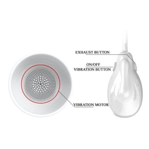[WALLER PAA] Silicone Auto Vacuum Suction Vibrating Nipple Breast Pump Enlarger Stimulators