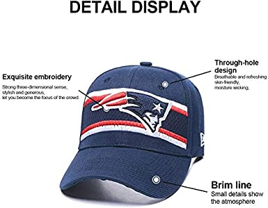 Rugby Team Logo Baseball Hat Adjustable Unisex Fashion Baseball Cap for Men and Women Generic Brands NFL