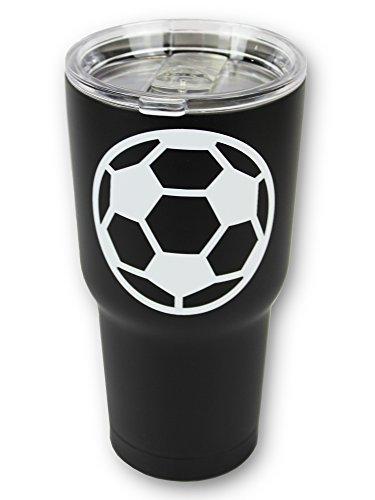 Soccer Tumbler 30oz Gift for Mom Men Women Mothers Day Birthday (Soccer)
