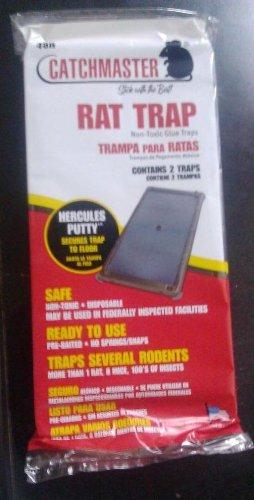 Catchmaster Rat Glue Boards - Glue Tray 48R QTY 1- 2PK
