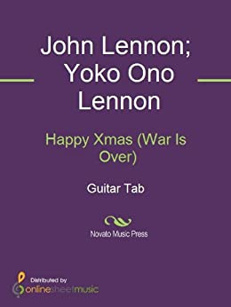 happy xmas war is over sheet music pdf