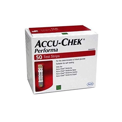 Accu-Chek Aviva Plus Blood Glucose Test Strips, 100 Count