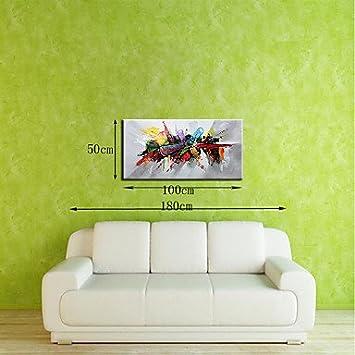 HGFYDXL Abstract Pop Art Horizontal, Moderne Leinwand Öl Gemälde Zur ...