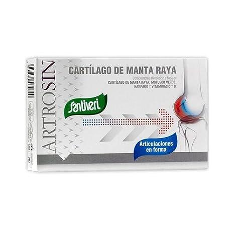 Artrosin Cartilago Manta Raya 60 cápsulas de Santiveri: Amazon.es: Salud y cuidado personal