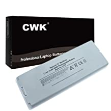 "CWK White Long Life Replacement Laptop Notebook Battery for Apple A1181 A1185 202-5522-A MB403X A MacBook 13"" A1181 A1185 MA566FE A MA566G A MA566J A MacBook 13"" A1181"