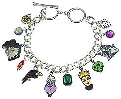 Bioworld Disney 12 Charm Bracelet Jewelr...