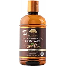 Tree Hut Shea Moisturizing Body Wash, Brazilian Nut, 17 Fluid Ounce
