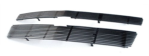 MaxMate Fits 07-14 Chevy Avalanche/Suburban/Tahoe(Not for Hybrid) Bolton Upper 2PC Horizontal Billet Polished Aluminum Grille Grill Insert ()