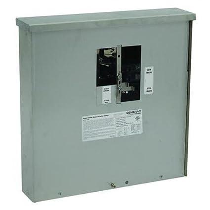 amazon com generac 6382 30 amp manual transfer switch outdoor rh amazon com eaton service entrance rated manual transfer switch Manual Transfer Switch for Generator