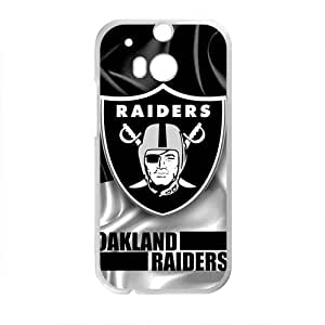 Oakland Raiders Te Design Design Hard Case Cover Protector For HTC M8