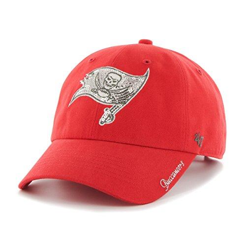 - NFL Tampa Bay Buccaneers Women's '47 Sparkle Sequin Clean Up Adjustable Hat, Torch Red