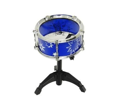 41z9OnXCSYL - 11pc Kids Boy Girl Drum Set Musical Instrument Toy Playset BLUE