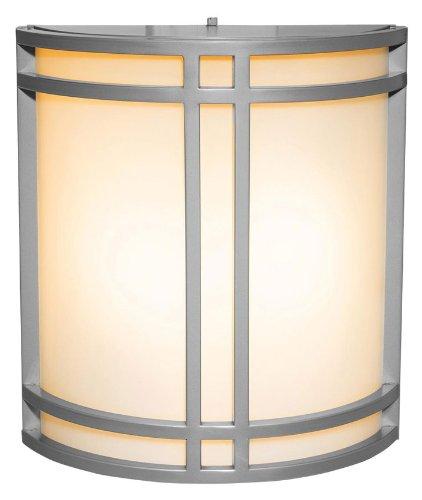 (Access Lighting 20362-BRZ Artemis 2-Light Wet Location Wall Fixture, Bronze with Opal Glass )