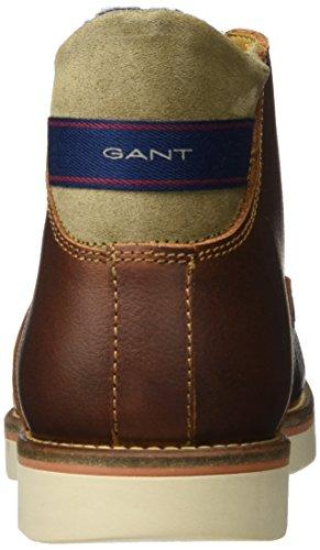 Gant Mens Huck Chukka Boots Brown (cognac)