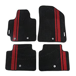 LT Sport Custom Fit 14-16 Kia Soul Stylish Nylon Floor Mats Carpet
