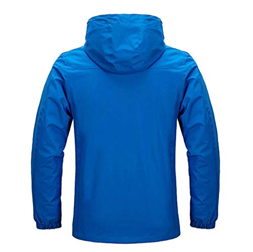 Red Men's Coat Shell Jacket Soft Windproof Section Thin Waterproof Jacket Mountaineering npABv