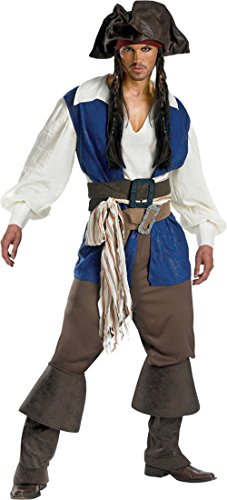 Deluxe Pirate Boot Covers (JACK SPARROW DELUXE PLUS 50-52)