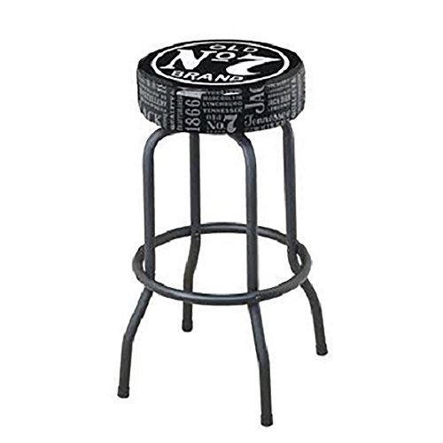Jack Daniel's Repeat Swivel Bar Stool - (Logo Steel Bar Stool)