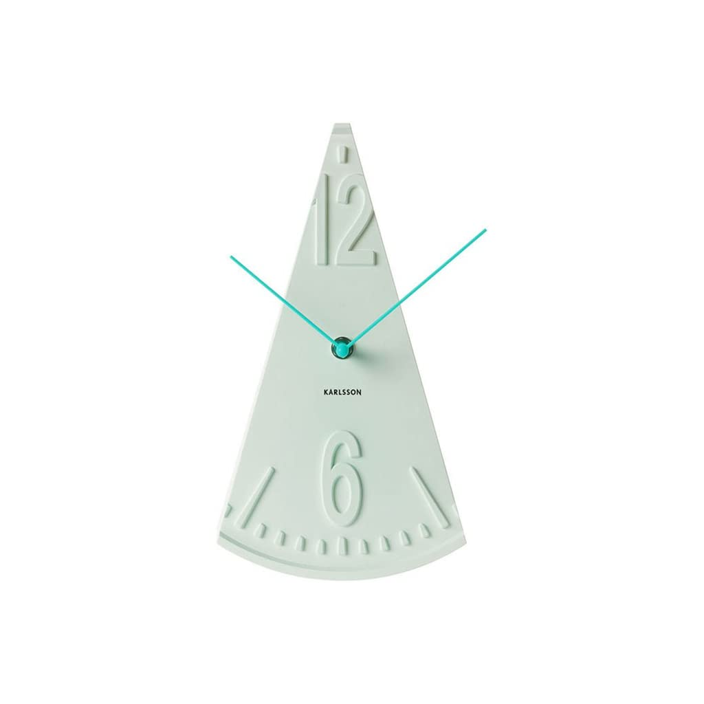 Karlsson Plastic Unbalance Pendulum Table Clock Mint Green