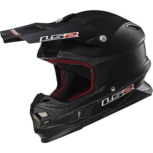 Matte Black Motocross Helmet - 7