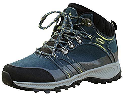 Ante Para Zapatos Excursionismo Zapatillas Calzado Senderismo De Insun Escalada Alpinismo Marina Forrado Hombre Terciopelo aqnpw880