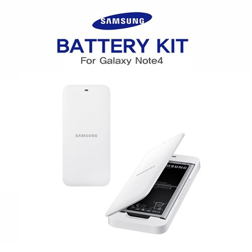 Genuine Samsung Galaxy Note 4 Spare Battery Charger with Replacement Battery - Retail Packing