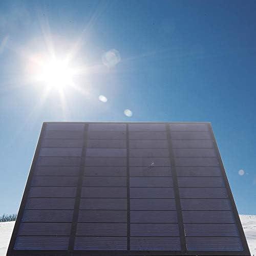 Dgtrhted Hohe Qualität 5W 12V DIY polykristallines Silizium Solar Panel PET Lamination Wiederaufladbare