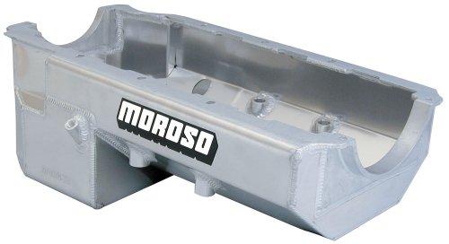 - Moroso 20372 Wet Sump Oil Pan for Chevy Big-Block/Dart/Donovan Engine Blocks