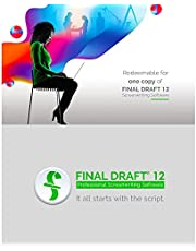 $249 » Final Draft 12 - Professional Screenwriting Software for Television, Film, Stage, & Graphic Novel Scripts - Program Available for Mac and PC Platforms