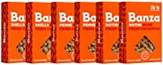 Banza Chickpea Pasta, Variety Pack (2 Penne/2 Rotini/2 Shells) - Gluten Free Healthy Pasta, High Protein, Lowe