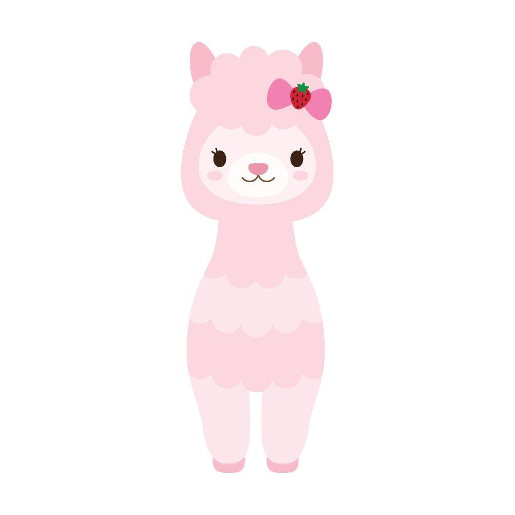 【スーパーセール】 パステルピンクAdorable Llama – ビニールデカール屋内または屋外の使用、車、ノートパソコン、飾り、Windows Pink-llama8、and Inch – More 8 Inch Pink-llama8 8 Inch B07B1V3X91, playthings:a81d76e5 --- a0267596.xsph.ru