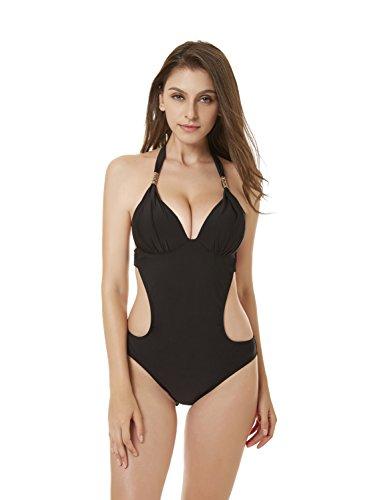 OBSSKY Adjustable Women's Bikini Set Bathing Suit Swimsuit One-Piece Beachwear Swimwear by OBSSKY