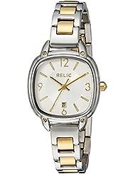 Relic Womens ZR34244 Analog Display Analog Quartz Gold Watch
