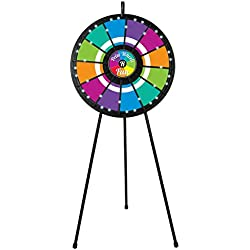 12 Slot Floor Stand Prize Wheel (31 Inch Diameter)