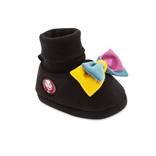 Disney Nightmare Before Christmas Sally Baby Costume Shoes - Girls (12-18 mo) Black