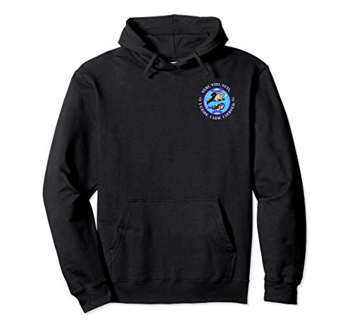 (USS BUFFALO SSN-715 PATCH IMAGE Pullover Hoodie)