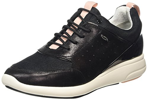 Ophira para Negro Geox B Zapatillas D Mujer wCn8q8z5