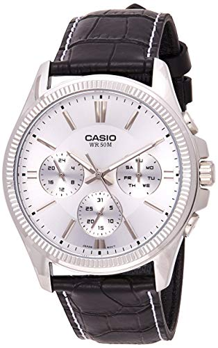Casio Enticer White Dial Men's Watch   MTP 1375L 7AVDF  A839