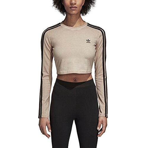 Adidas Women Originals Long Sleeve Crop Top