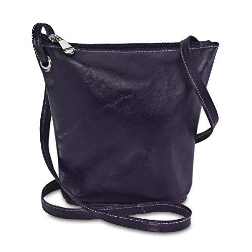 david-king-co-florentine-top-zip-mini-bag-3518-purple-one-size