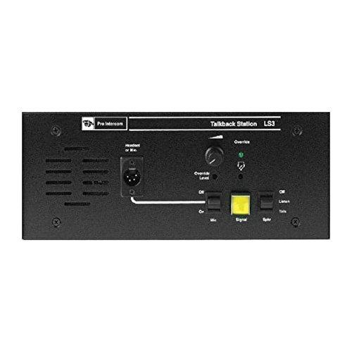 Pro Intercom LS3, Duplex Single Circuit Flush Mount Talkback Loudspeaker Station
