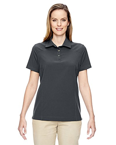North End 75120 Ladies' Excursion Crosscheck Woven Polo